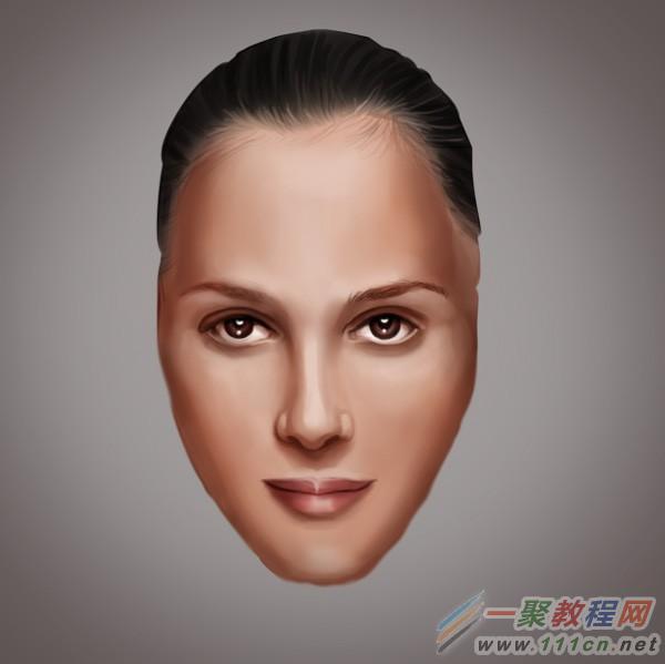 photoshop绘制皱纹雀斑疤痕人像后期处理教程