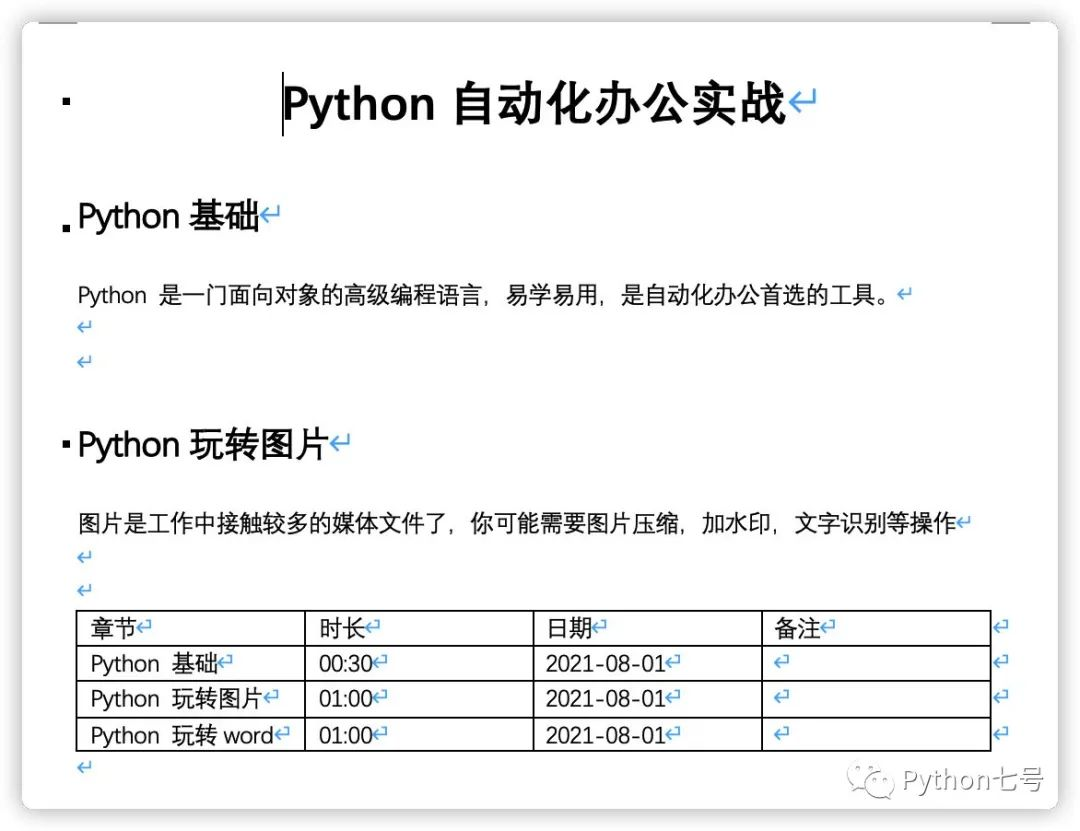 Python办公自动化解决world文件批量转换